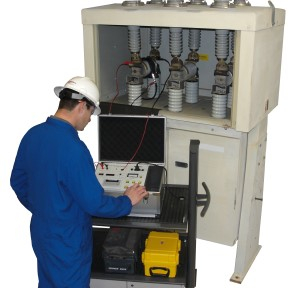 vacuum interrupter test set