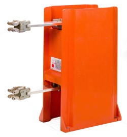 Original vacuum interrupter pole assembly used in Power/Vac circuit breakers