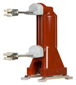 Replacement vacuum interrupter pole assembly using embedded vacuum interrupter